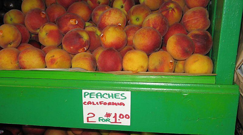 California Peaches Philadelphia Style Credit Barbara Steinberg