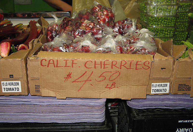 California Cherries Philadelphia Style Credit Barbara Steinberg
