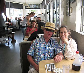 Long Beach in Chucks - Chuck and Barbara July 2008 Credit Barbara Steinberg