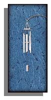 California made Grace Note Petite Windchime