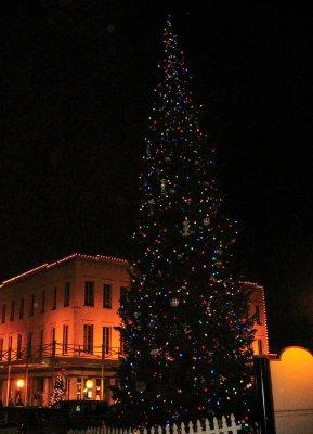 Old Sacramento Christmas Holiday Tree Credit Barbara Steinberg 1