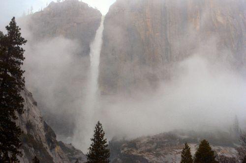 Yosemite Falls January 22 2009 Credit Barbara Steinberg
