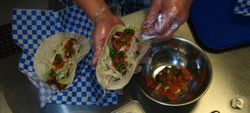 Old Sacramento Delta House Fish Tacos Credit Barbara Steinberg