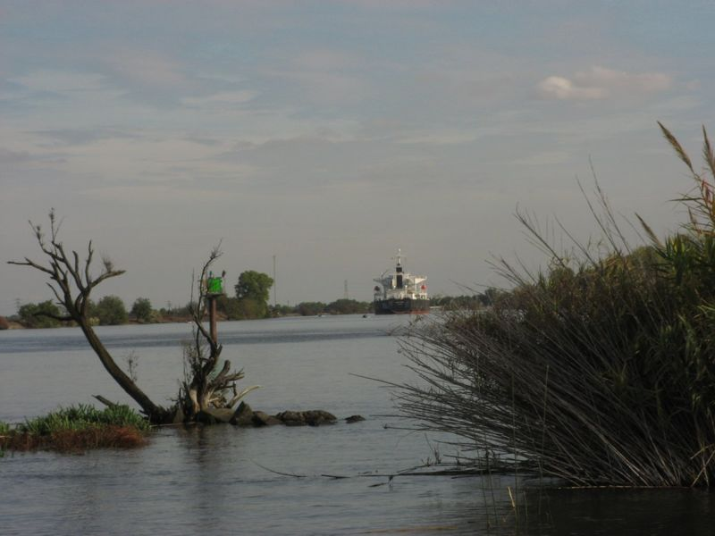 Delta Freighter Deep Water Channel Seven Crown Resorts Credit Barbara Steinberg