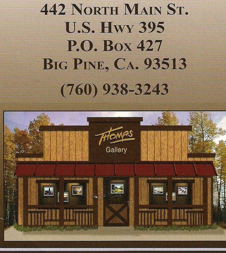 Carroll Thomas Gallery Big Pine Open 1