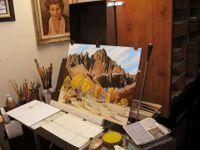 Carroll Thomas Painting 2006
