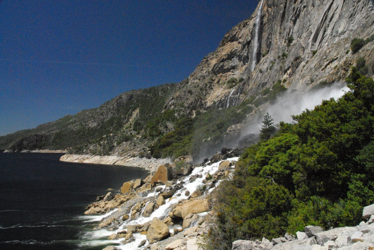 Waterfalls in Hetch Hetchy Christine Loberg