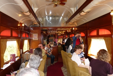 Napa Valley Wine Train Credit Barbara L Steinberg