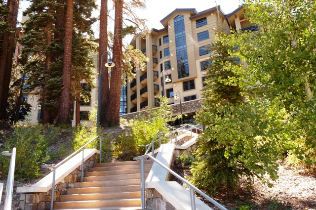 The Westin 119 steps to the top of the hill from The Village Credit Barbara L Steinberg