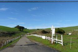 Marin County back roads to Nick's Cove Credit Barbara L Steinberg 2012