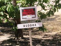 Buddha Private Property Credit Barbara L Steinberg 2013