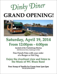 Dinky Diner grand opening