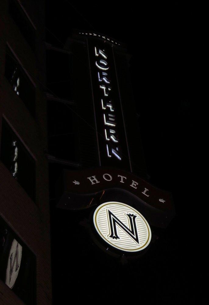 Northern Hotel Neon Credit Barbara L Steinberg 2013