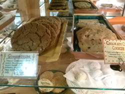 Gingersnap cookie at American Valley Baking in Quicny California Credit Barbara L Steinberg 2014tm