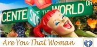 Are You That Woman magnet - sticker