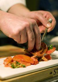Chefs Holiday at the Ahwahnee Hotel plating beets Credit DNC Parks & Resorts at Yosemite, Inc.