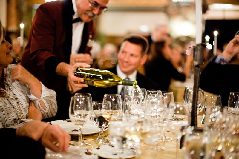 Vintners Gala Dinner-at the Ahwahnee Hotel Credit DNC Parks & Resorts at Yosemite, Inc.