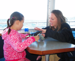 Ventura California Mother and Daughter enjoy Island packers Channel Islands Credit Barbara Steinberg