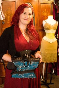 Isabella  Erin Bray croset designer and maker Credit Jim Coats
