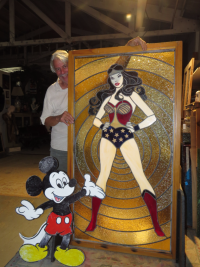 Mickey Abbey and Wonder Woman Credit Are You That Woman