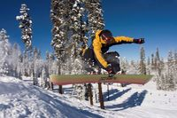 Badger Pass Snowboarder_ Credit Chris Falkenstein - Delaware North at Yosemite