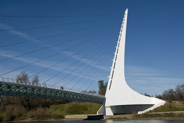 Sundial Bridge Courtesy of Visit Redding