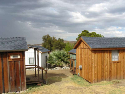 Mercey Hot Springs Cabins  Credit Barbara L Steinberg