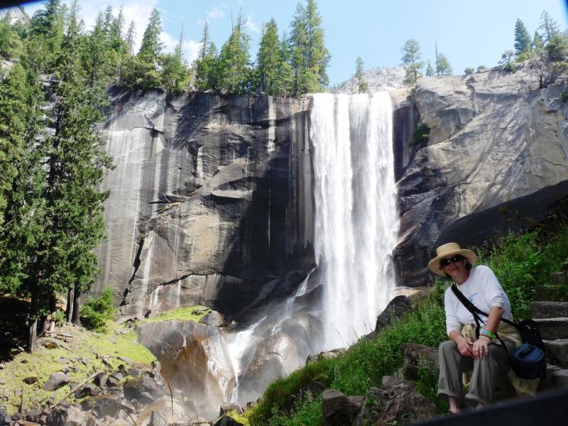 Vernal Falls Yosemite Barbara 2011