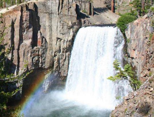 Rainbow Falls Courtesy of Visit Mammoth