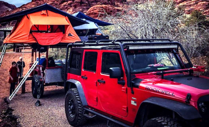Tepui Tents Roof top tents for cars and trucks Courteay of Tepui Tents
