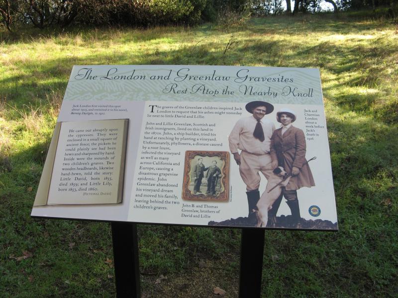 Jack London Gravesite Sonoma Credit Barbara L Steinberg