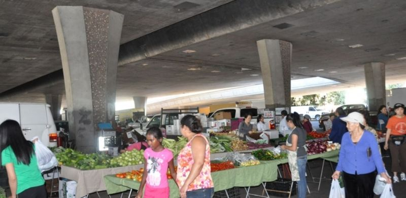 Stockton Asian farmers market