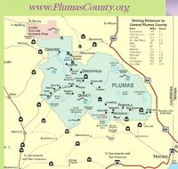 1 The Lost Sierra Plumas County Locator Map