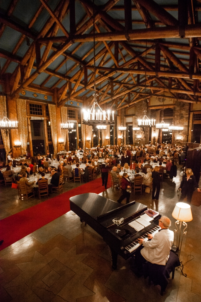 Chefs' Holidays Gala Dinner in The Ahwahnee Dining Room Courtesy of Delaware North at Yosemite