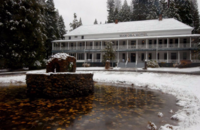 Wawona Hotel in Winter Credit Nancy Robbins, DNC Parks & Resorts at Yosemite, Inc