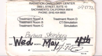 Radiation Oncology Center ID