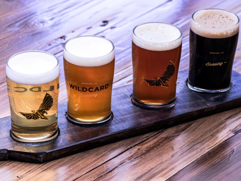Wildcard Brewing Courtesy of Visit Redding