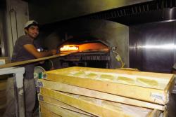 Baking Samoon Bread Babylon City Market 2016 Credit Are You That Woman
