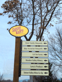 Fairfield Suisun Valley Ag Signs Credit Barbara Steinberg 2009