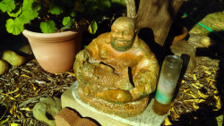 Buddha in the garden Credit Are You That Woman
