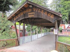 Aptos Redwood Creek Covered Bridge