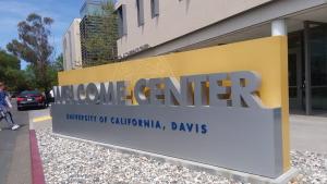 Welcome Center davis