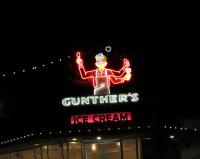Gunther's Landmark Neon Credit AreYouThatWoman.com