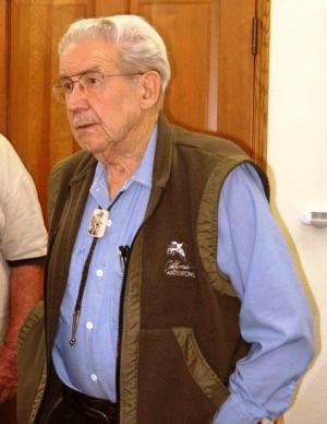 Carrol Thomas at 96  Big Pine Credit Barbara Steinberg 2006