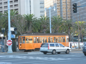 SF Trolley Credit Are You  That Woman 2009