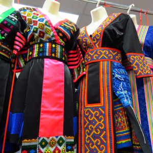 GP Fabric Hmong Costumes  Restaurant Credit www.AreYouThatWoman.com