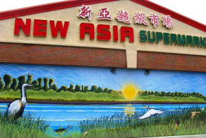 New Asia Market 6418 Stockton Boulevard Mural Mike Tate Credit Are You That Woman