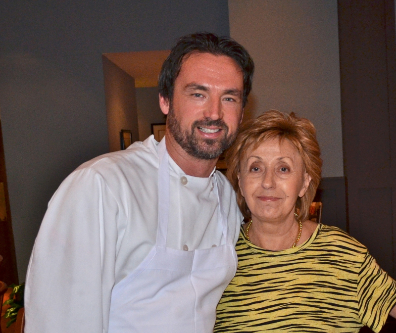 Chef Toso and Biba  Credit Vincent Caggiano 2012
