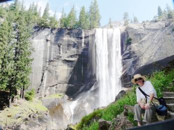 Barbara Yosemite Vernal Falls