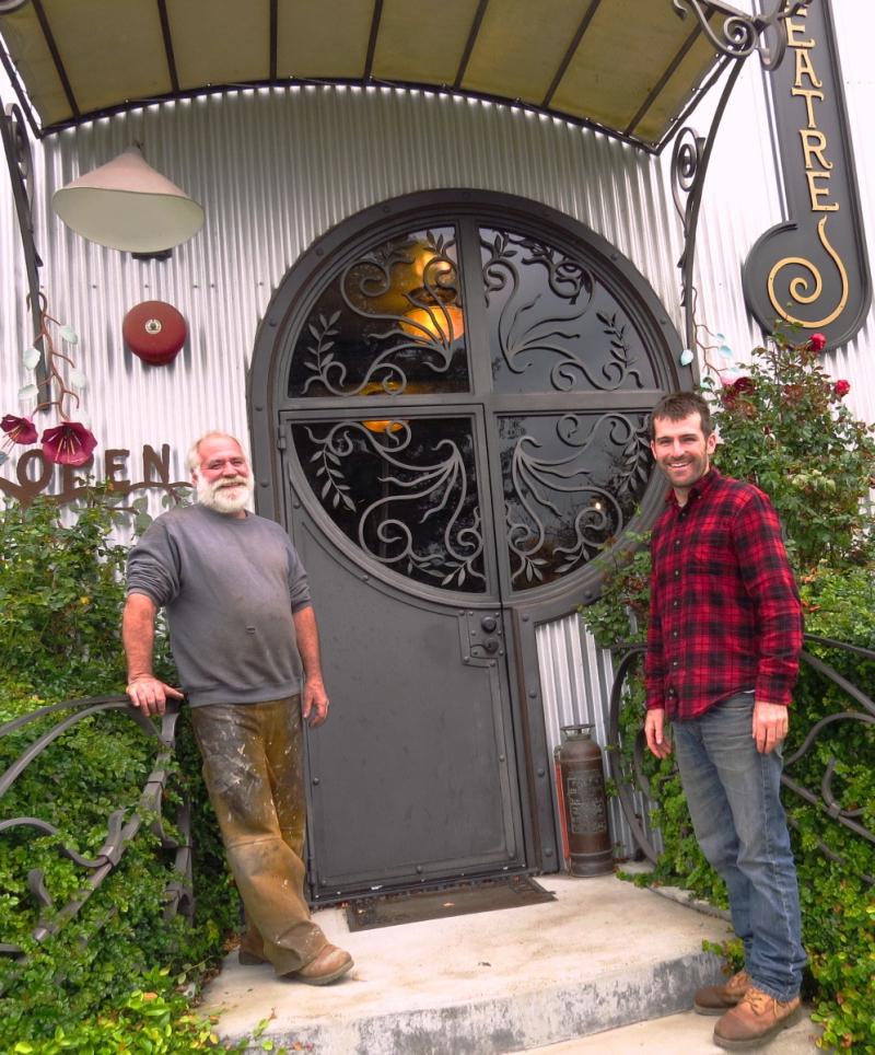 Walnut Grove Iron Works Partick Daniel and Jason Puckett Credit Barbara L Stienberg1